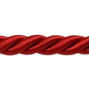 Expo International Savannah 1cm Twisted Cord Trim, 20-Yard, Red