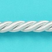 Expo International Savannah 1cm Twisted Cord Trim, 20-Yard, White