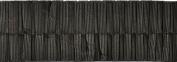 Pleated Trim Boxpleated Grosgrain Ribbon Roll, Brown, 25-Yard