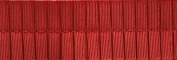 Pleated Trim Boxpleated Grosgrain Ribbon Roll, Red, 25-Yard