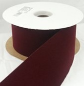 1.6cm x 25 yds Velvet Ribbon-red