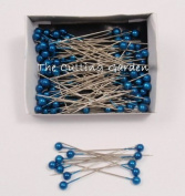 Blue Pearl Corsage / Boutonniere Pins 5.1cm pk/144