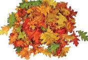 Assorted Mini Fall Colour Oak Leaves - Autumn Weddings, Flowergirl Leaves, Fall Decor