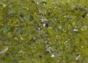 Coloured Glass Pebbles (GC1050) Yellow, 3 lbs