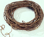 Brown Rustic Wire 21m 18 Gauge