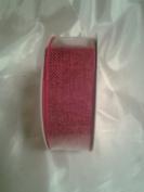 Red Linen Ribbon