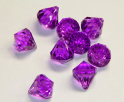 2lb of 20 Carat Dark Purple Acrylic Diamonds - Big Diamonds Big Bling