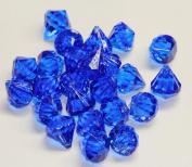 2lb of 20 Carat Royal Blue Acrylic Diamonds - Big Diamonds Big Bling