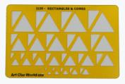Artistic Design Template - Rectangles & Cones