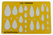 Artistic Design Template - Teardrops