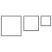 Making Memories Tag Maker Rims-Square/5.1cm ,3.8cm & 2.5cm