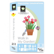Provo Craft� Cricut� Shape Cartridge - Walk In My Garden