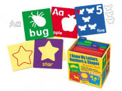 Letters, Numbers & Shapes Stencil Box