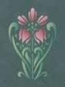 Modern Masters Nouveau Lily Stencil Botanical Collection