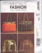 McCall's Fashion Accessories M5487 Pattern for Satchels