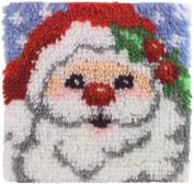 Latch Hook Kit (30cm X 30cm ) - Santa
