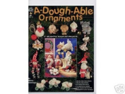 A-Dough-Able Ornaments Clay Dough Art OOP NEW