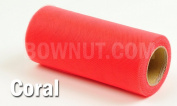 "6""x75'(25y) TULLE Roll Spool Tutu Wedding Favour Gift Bow Craft"