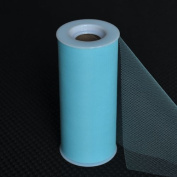 Premium Tulle on Spool (15cm Wide x 25 Yards Long) - Light Blue