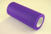 15cm Purple Craft Tulle Roll 25 Yards