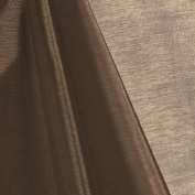 150cm Inch Wide Premium Light Brown Mirror Organza by the Yard