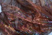 multicoloured Organza-Brown