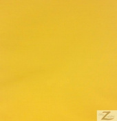 SOLID POLY COTTON FABRIC - Yellow - SOLD BTY POLYCOTTON 150cm /150cm WIDTH