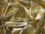 Gold Metallic Tissue Lame Fabric 110cm Wide By the Yard