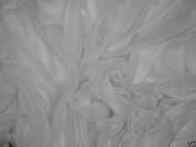 White Organza Fabric 150cm By the Yard