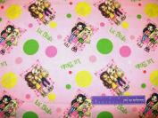110cm Wide Little Bratz Dolls Cotton Fabric BY THE HALF YARD