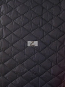 QUILTED POLYESTER BATTING FABRIC - Black - 150cm WIDTH SOLD BTY - 1.3cm THICK