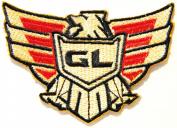 Honda GL Eagle Goldwing Gold wing Logo Motorcycles Chopper Motorrad Biker Shirt jacket Patch Sew Iron on Embroidered...