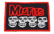 MISFITS LOGO Patch Danzig Horror Hardcore Punk
