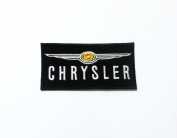 Chrysler Logo Jacket Patch Sew Iron on Embroidered Applique