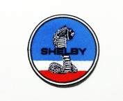 Shelby Gt Cobra Mustang Ford Cars Logo T-shirts Embroidered Iron or Sew on Patch