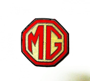 Mg Car Racing for Clothing Polo Jacket Shirt Embroidered Iron on Patch