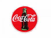 1x Coca Cola Coke(red) Logo for Dry Clothing ,Jacket ,Shirt ,Cap Embroidered Iron on Patch