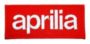 aprilia Logo Motorcycle Bikes Motard Polo Jackets Iron on Patches