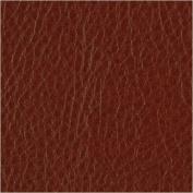 Faux Leather Fabric Calf Terra Rosa