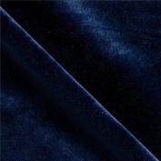 Stretch Velvet Navy Blue 150cm By the Yard