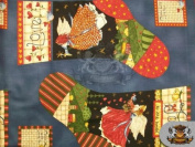 100% Cotton Quilt Prints - South Sea Import - Angels From Above