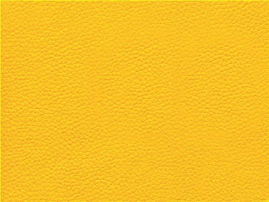 Faux Leather Fabric Calf Bright Yellow