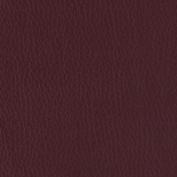 Flannel Backed Faux Leather Deluxe Burgundy Fabric