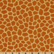 Jungle Babies Giraffe Tan Fabric