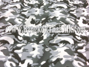 Army Camouflage Greys Cotton Fabric 110cm W By the Yard