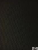 SOLID OUTDOOR FABRIC (WATERPROOF/ANTI-UV) - Black - DUCK VINYL 150cm WIDTH