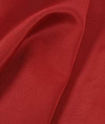 Valentine Red Bengaline Faille Fabric - by the Yard