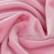 Stretch Velvet Pink Fabric