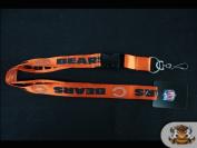 NFL Licenced Chicago Bears - Orange Detachable 60cm Lanyard