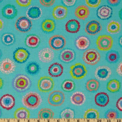 Kaffe Fassett Collective 2012 Plink Turquoise Fabric